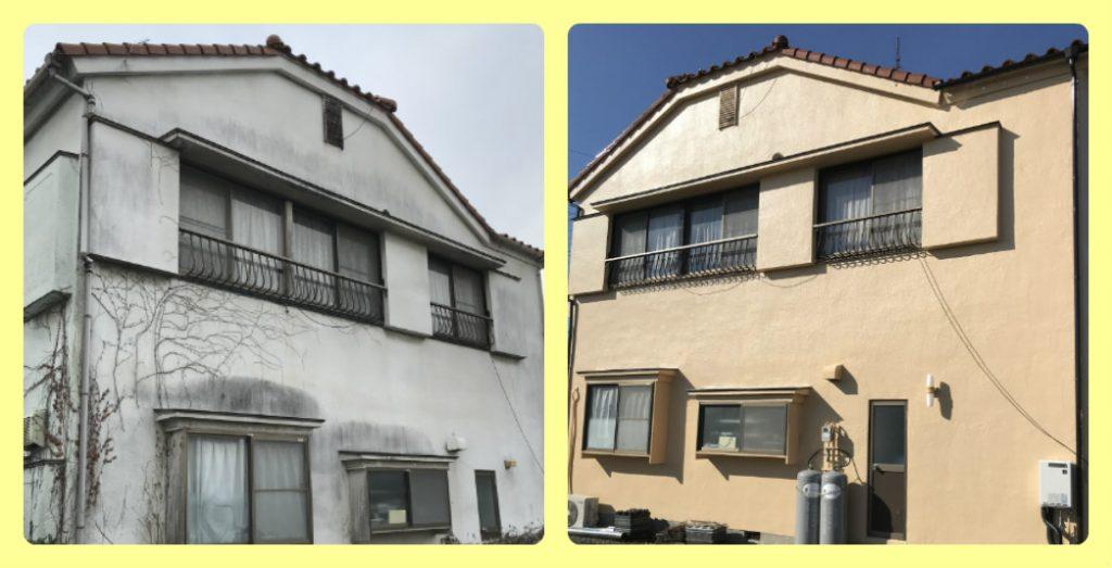 外壁塗装施工事例|栃木市の外壁塗装・屋根塗装専門店 木の花塗装