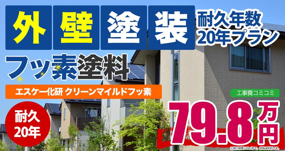 フッ素塗料 エスケー化研 クリーンマイルドフッ素 798,000円