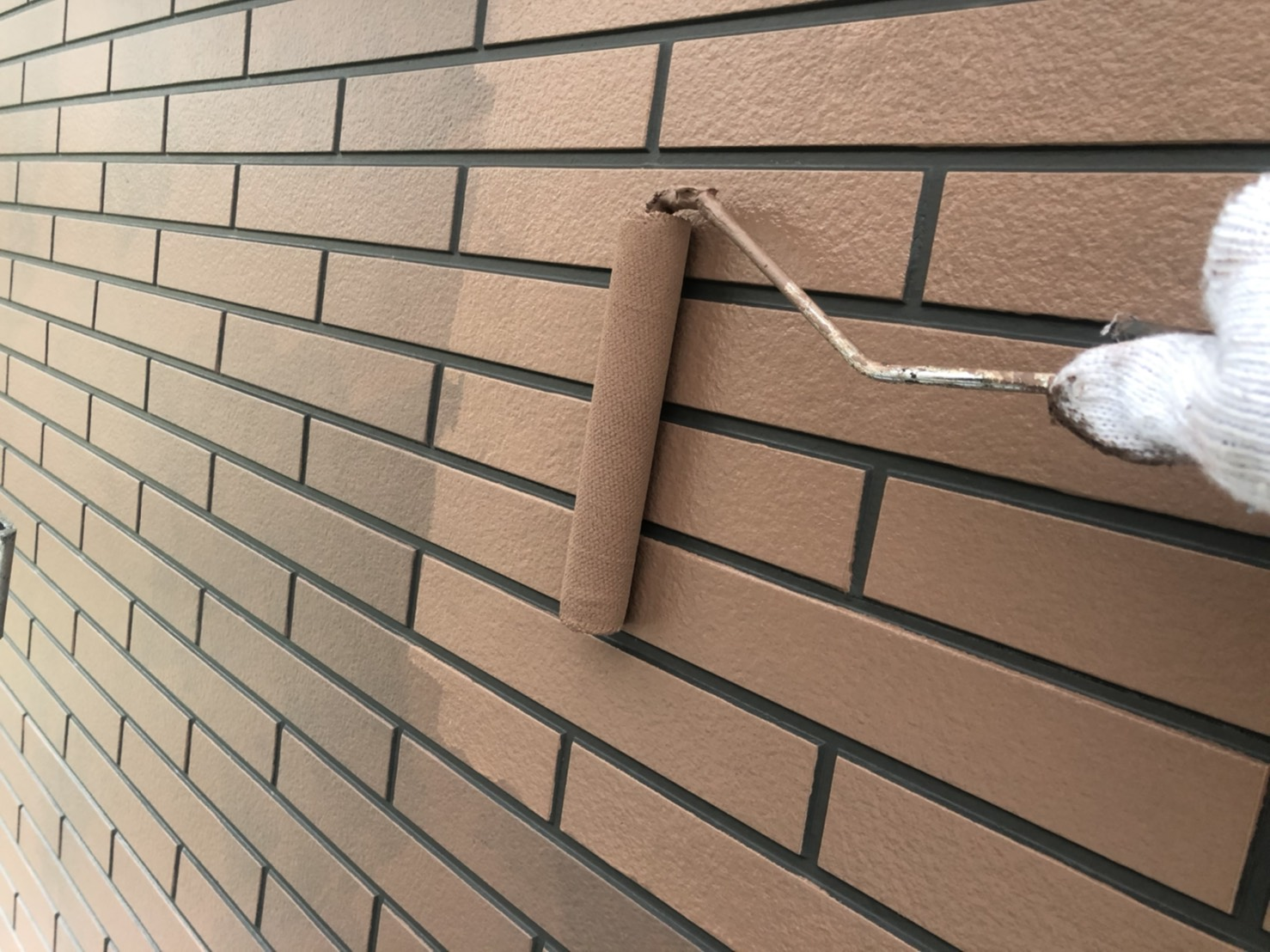 外壁 ダブルトーン仕上げ