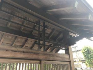 冠木門の塗装!!! |栃木市 宇都宮市 鹿沼市の外壁塗装・屋根工事専門店 木の花塗装